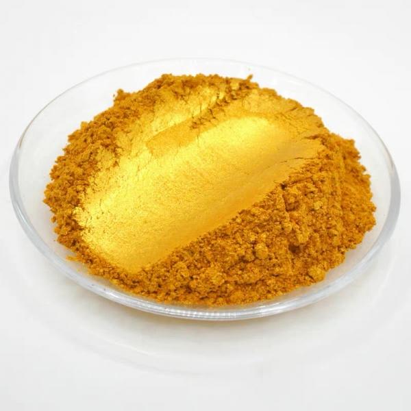 水晶系列金色珠光粉