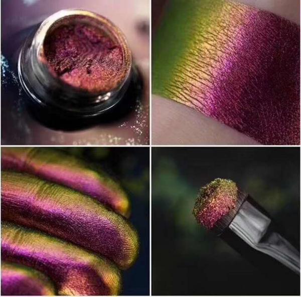 进口化妆品级变色龙粉