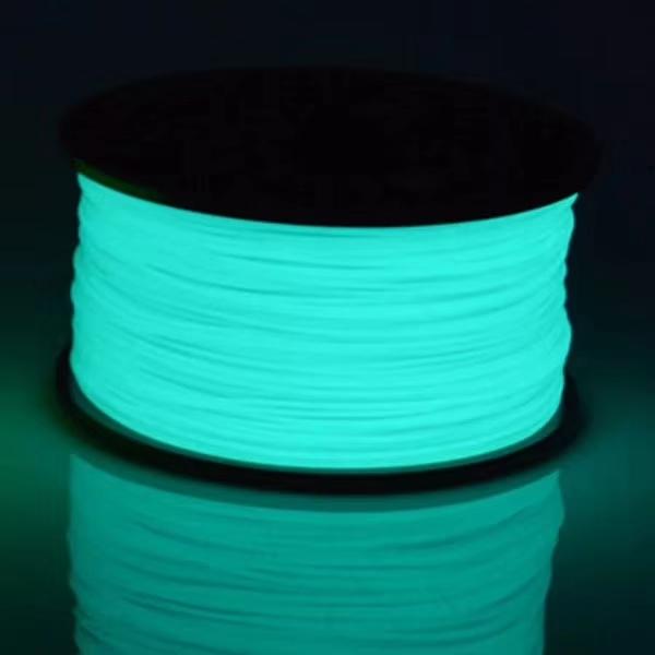 夜光蓝绿纱线